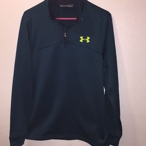 Ladies Small Under Armour Green Jacket